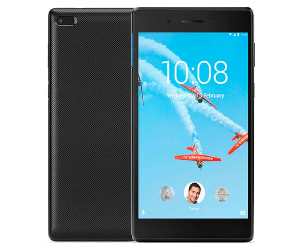 LENOVO TAB7 ESSENTIAL NEGRO TABLET WIFI 7'' IPS HD/4CORE/8GB/1GB RAM/2MP/0.3MP
